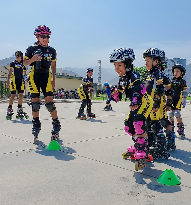 Entrenamientos de patinaje de velocidad
